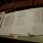 Personal diagrams of replica door and window plans.