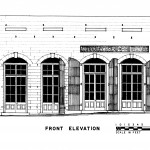 from Historic American Building Survey diagrams