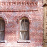 Bodie replica — Upper window detail