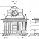 from Historical American Building Survey diagrams